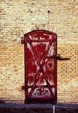Copenhagen, Denmark - antique brick storage dock at Christiansha Stock Photography