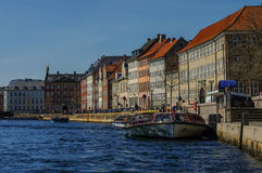 Copenhagen, Denmark - 30 april 2011: Spring view of the Old Town Stock Image