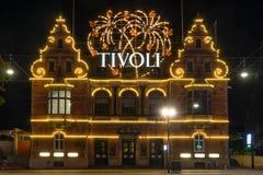 Tivoli gardens in Copenhagen Royalty Free Stock Images