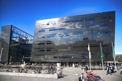 COPENHAGEN, DENMARK - AUGUST  16, 2016:  The Black Diamond, The Royalty Free Stock Photo