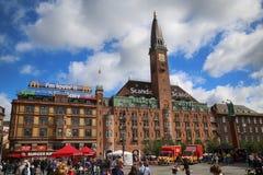 COPENHAGEN, DENMARK - AUGUST 14, 2016: Scandic Palace Hotel is a Stock Photos