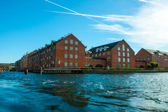 Copenhagen, Denmark - Canal House Royalty Free Stock Image