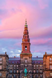 Copenhagen, Denmark. Copenhagen is the capital and most populous city of Denmark. It is one of the most bicycle-friendly cities in the world royalty free stock photos