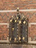 Copenhagen.Denmark. Decorative elements in the castle of Frederiksborg. Royalty Free Stock Images