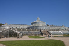Copenhagen, Denmark - the greenhouses at Botanical Garden Royalty Free Stock Images