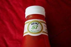 Kraft hein tomato ketchup 57  danish capital. Copenhagen /Denmark./ 26.June 2019/ American Kraft Heinz or Hein Tomato  Ketchup in danish home ind anish capital stock image