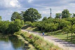 Copenhagen, Denmark, Langelinie Park. Stock Photography