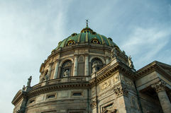 Copenhagen, Denmark -Marble Church / The Frederiks Church Royalty Free Stock Photo