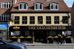 THE OLD IRISH PUB. Copenhagen / Denmark,04.March 2018_ The old irish pub in danish capital.     .Photo by Francis Joseph Dean/Deanpictures Stock Images