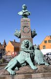 STATUE OF HELOLAND 9 MAY 1864. Copenhagen/Denmark 23.May 2018_Statue of Helgoland 9 may 1864 in danish capital .       Photo.Francis Joseph Dean / Deanpictures Stock Images