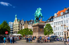 COPENHAGEN, DENMARK - MAY 29: View of Absalon statue on May 29, Royalty Free Stock Images