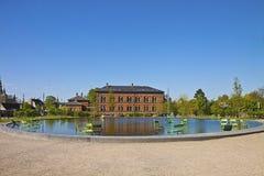 Copenhagen, Denmark - National Gallery and the fountain Stock Photo
