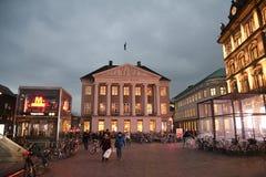 Copenhagen/Denmark 13..November 2018. Danske bank`s head office building kongens nytorv in dans capital Copenhagen Denmar stock photos