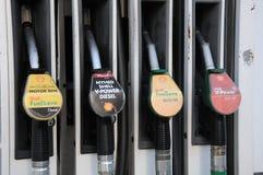 SHELL GAS STATION. Copenhagen /Denmark -03. November 2017. Shell gas station in danish caital. Photo.Francis Dean/Dean Pictures stock image