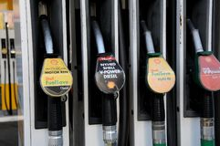 SHELL GAS STATION. Copenhagen /Denmark -03. November 2017. Shell gas station in danish caital. Photo.Francis Dean/Dean Pictures stock photos