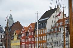 Copenhagen Denmark Nyhavn Stock Photography