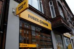 FOREX BANK ON AMAGER ISLAND Stock Photo