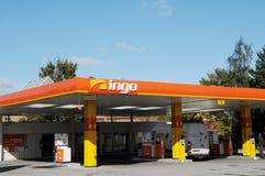 INGO GAS STATION. Copenhagen /Denmark - 09 October  2017.    INGO gas station.    Photo.Francis Dean/Dean Pictures Stock Photo