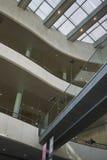 View of the Royal Library. Copenhagen, Denmark - October 10, 2018 : View of the Royal Library interior stock photos