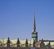 COPENHAGEN, DENMARK - the Old Stock Exchange from 1625 Stock Images