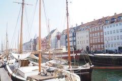 Copenhagen Denmark Pier stock images
