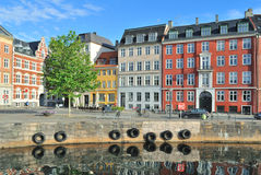 Copenhagen Old Town Stock Photography