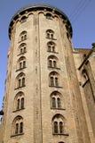 copenhagen denmark runt torn Royaltyfri Fotografi