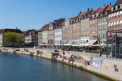 Gammel Strand in Copenhagen, Denmark