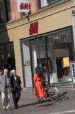 SWEDISH RELAIL H&M STORE. Copenhagen/Denmark 05.September 2018. Swedish reatil H&M store in danish capital. Photo.Francis Joseph Dean / Deanpictures stock photo