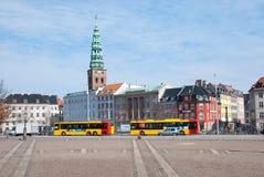 copenhagen denmark Stadstransport Arkivbild