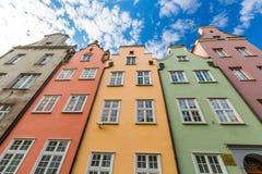 Copenhagen. Denmark Travel House Europe Multi Colored Nyhavn Stock Photos