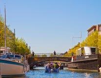 Copenhagen, Denmark:view of Christianshavn city harbor Stock Photography