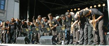 copenhagen festivaljazz Arkivbild