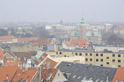 Copenhagen on a foggy day Royalty Free Stock Image