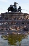 copenhagen fontanny gefion Obraz Stock
