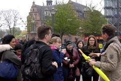 COPENHAGEN FREE WALKING TOUR Royalty Free Stock Image