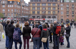 COPENHAGEN FREE WALKING TOUR Stock Images