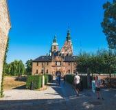 copenhagen grodowy rosenborg Denmark obrazy royalty free