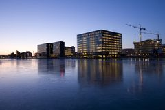 Free Copenhagen Harbor Stock Image - 12489691
