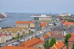 Copenhagen harbor Stock Photos