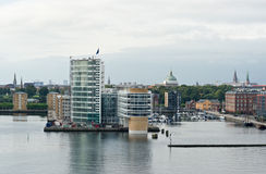 Copenhagen harbor Stock Photography