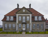 Copenhagen harbor house Stock Photography