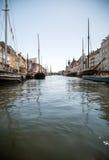 Copenhagen harbour Stock Photos