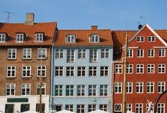 Copenhagen houses Royalty Free Stock Photography