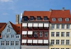 Copenhagen houses Royalty Free Stock Image