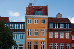 Copenhagen houses Royalty Free Stock Image