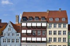 Copenhagen houses Stock Image