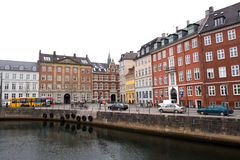 Copenhagen - houses.Denmark Royalty Free Stock Images