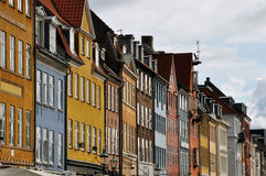 Copenhagen houses Royalty Free Stock Photo
