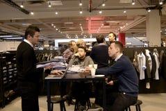 COPENHAGEN INTERNATIONAL FASHION FAIR CIFF Stock Photography
